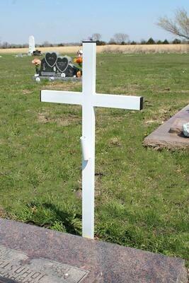Steel Memorial Cross