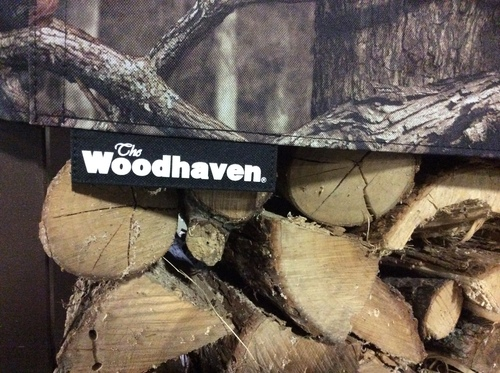 1/4 Cord Mossy Oak Seasoning Cover 4ft