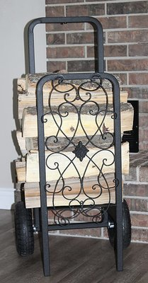 The Woodhaven Decorative Cart