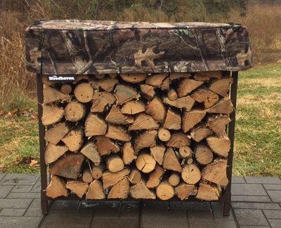 Mossy Oak Camo 1/8 Cord Woodhaven Firewood Rack