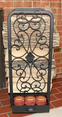 Tall Decorative Woodhaven Fireside Rack