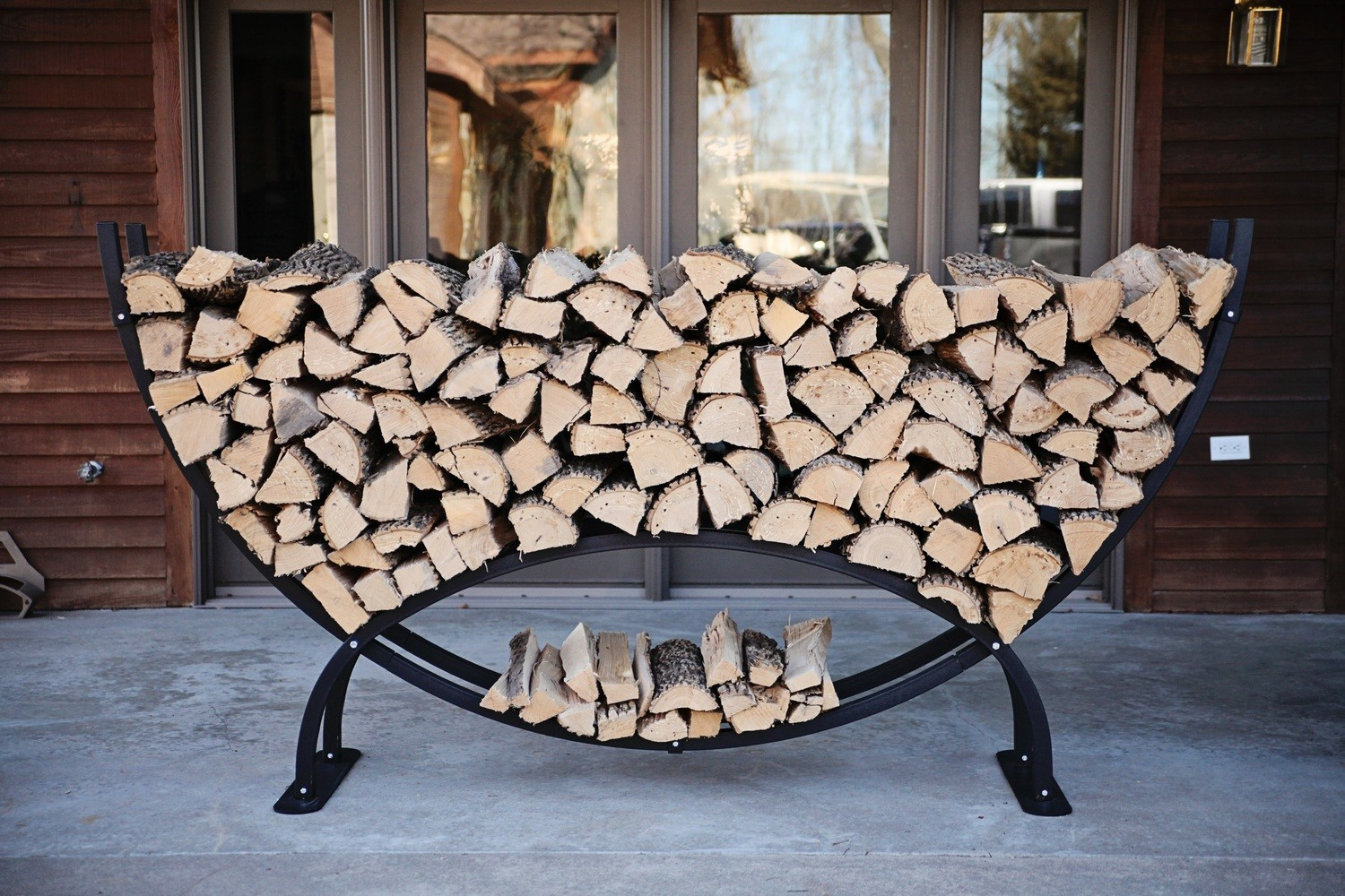 The Woodhaven 8ft Crescent Rack