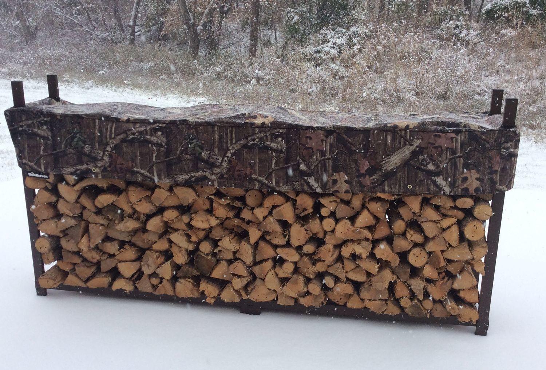 Mossy Oak 1/2 Cord Woodhaven Firewood Rack