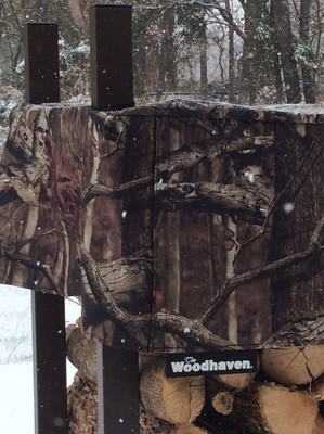 Mossy Oak 1 Cord Woodhaven Firewood 16ft Rack