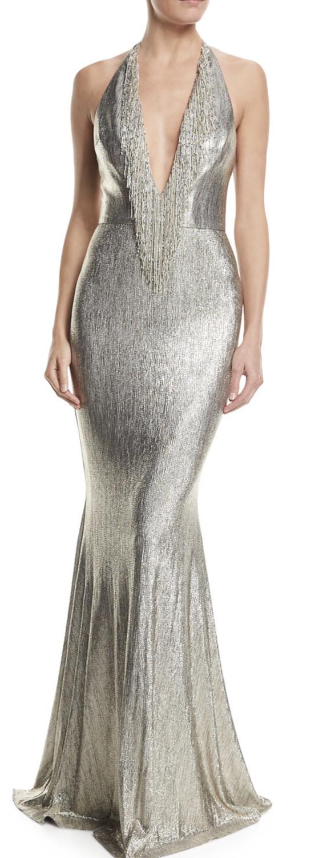 Badgley Mischka gown, 6