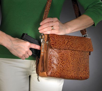 GTM-0022 Tooled American Cowhide