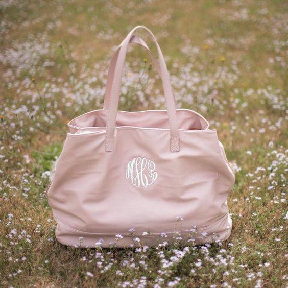 Blush Cambridge Travel Bag