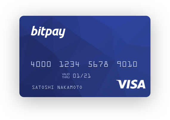 BitPay Card ( NEW ) !
