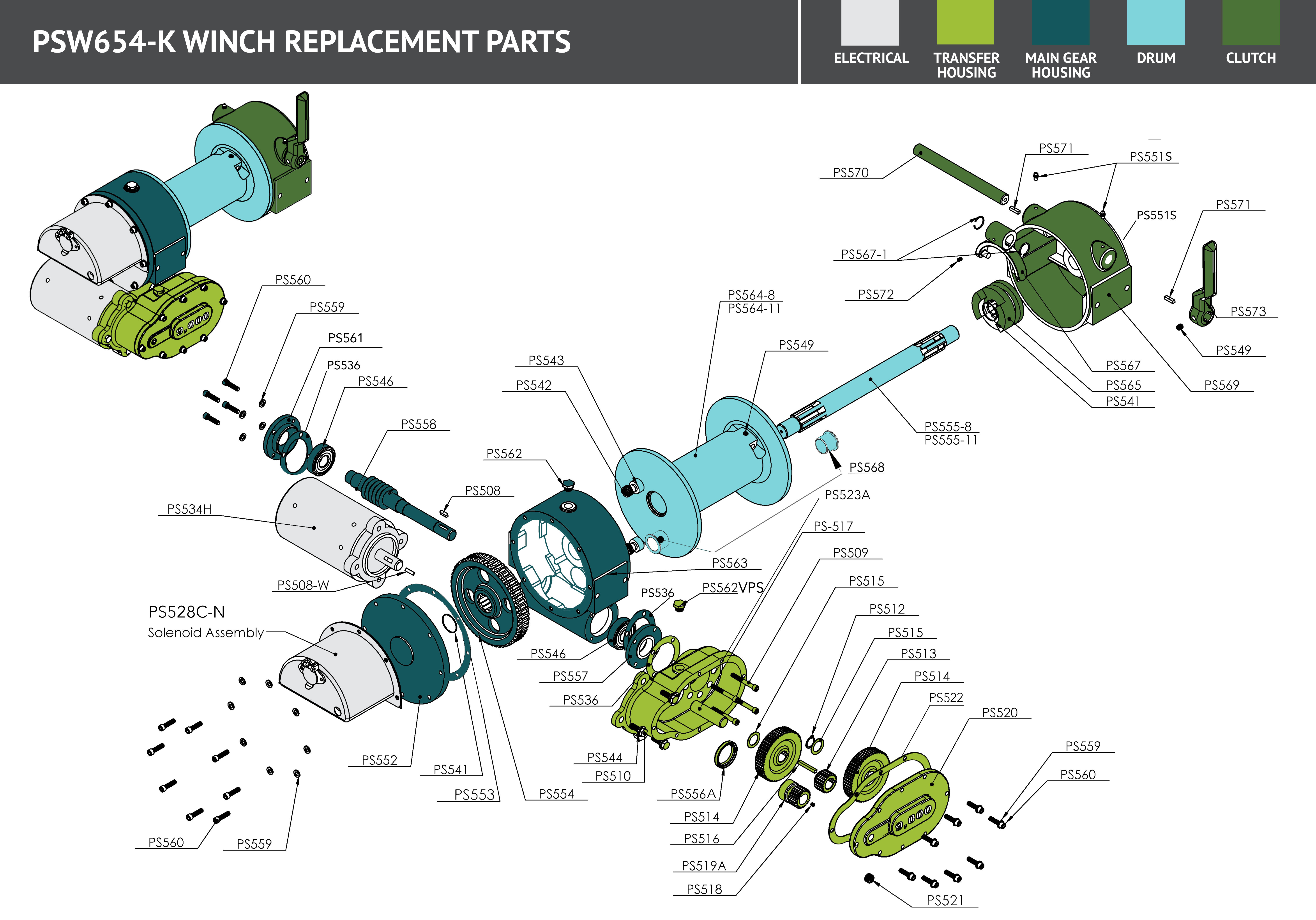 s www piercearrowinc com store?store page=ranch deweze clutch pump deweze wiring diagram #10