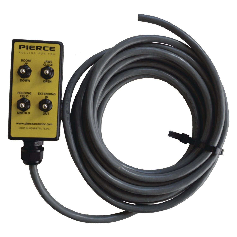8 Function Remote For Way Pump Or Wrecker Valve Body Pierce Winch Wiring Diagram Control