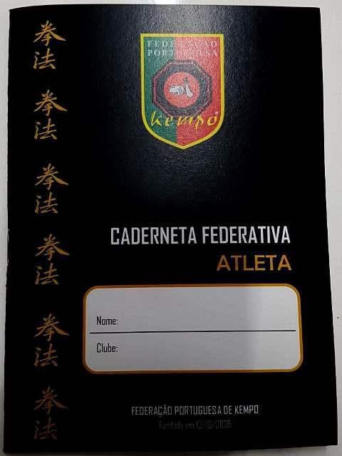 Caderneta Federativa CF