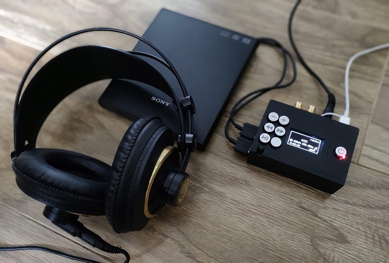NanoSound Player and Headphones are not included