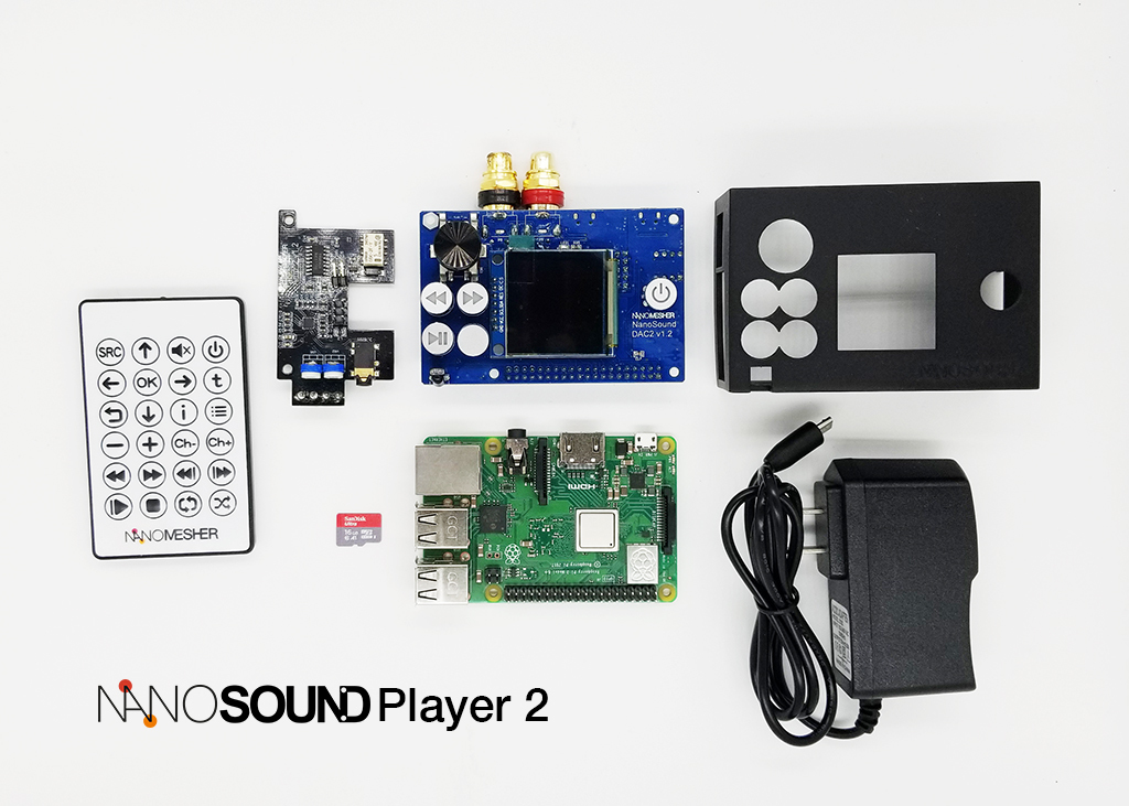 NanoSound Player 2 Kit NPLAYER2