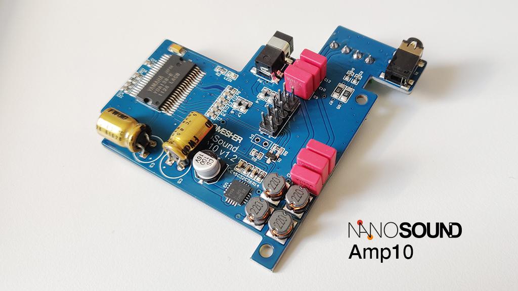 *NEW* NanoSound Amp10 Digital Amplifier NSOUNDAMP10