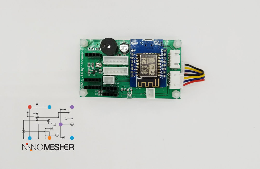 "Nanomesher Wireless HMI Dev Board Only (2.4"")"