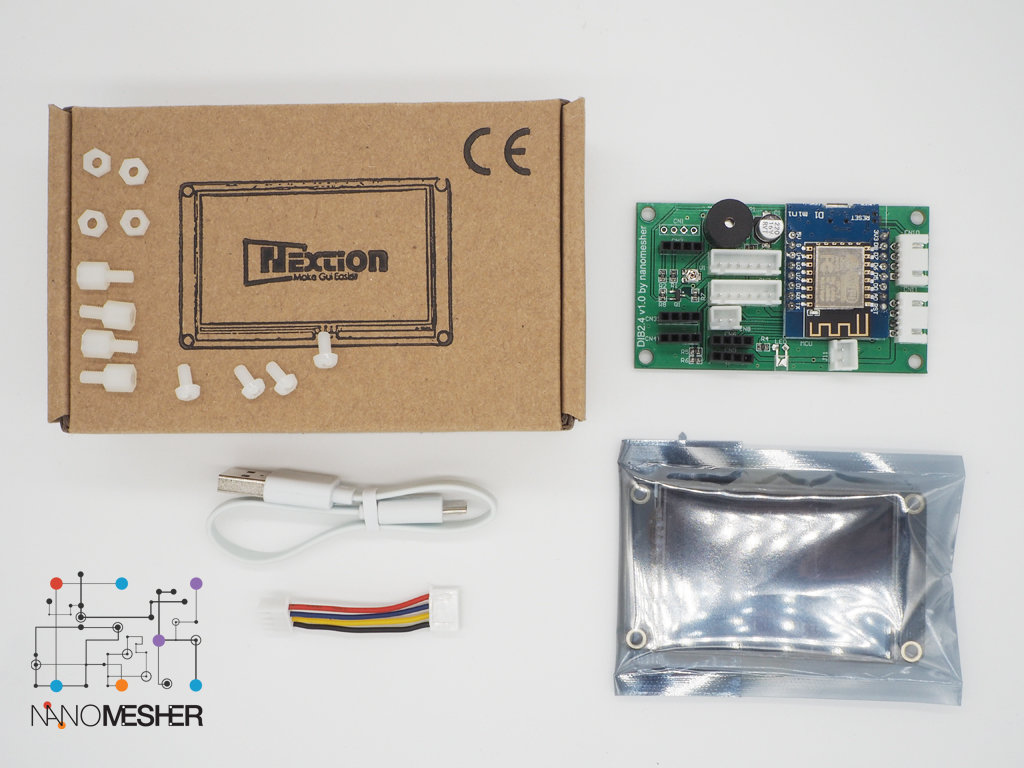 "Nanomesher Wireless Human Machine Interface (2.4"") HMI24"