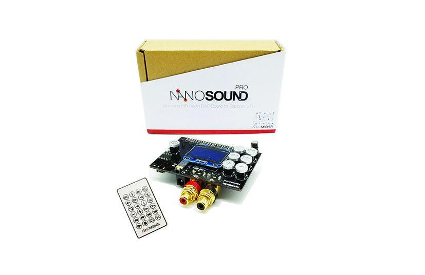 NanoSound DAC Pro for Raspberry Pi NSOUNDPRO