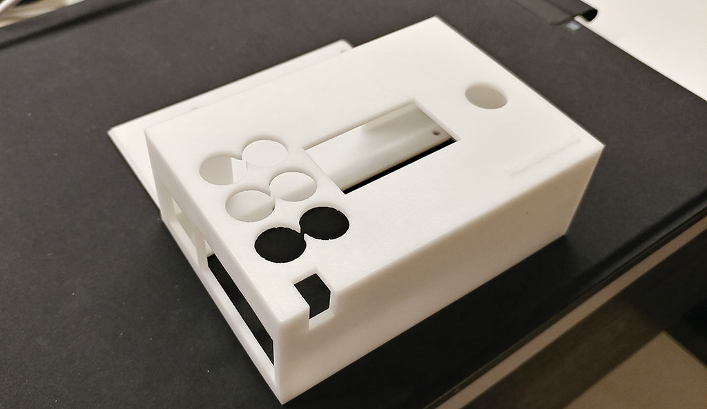 NANOSOUND DAC (Basic / Pro) 3D Printed Case (White) NSOUNDCASEW