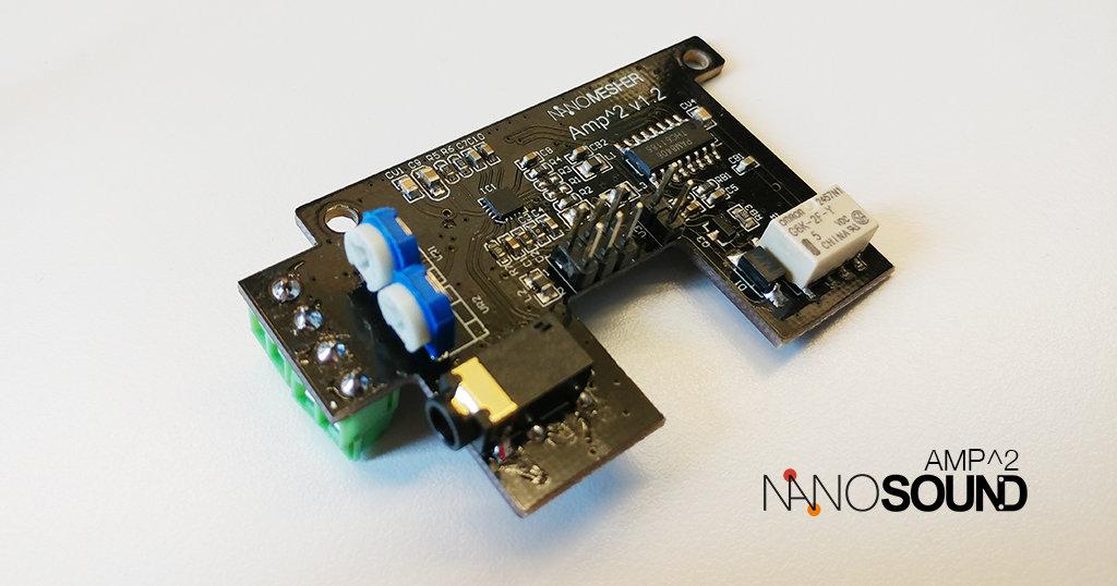 NanoSound Amp^2 for NanoSound DAC NSOUNDMAMP