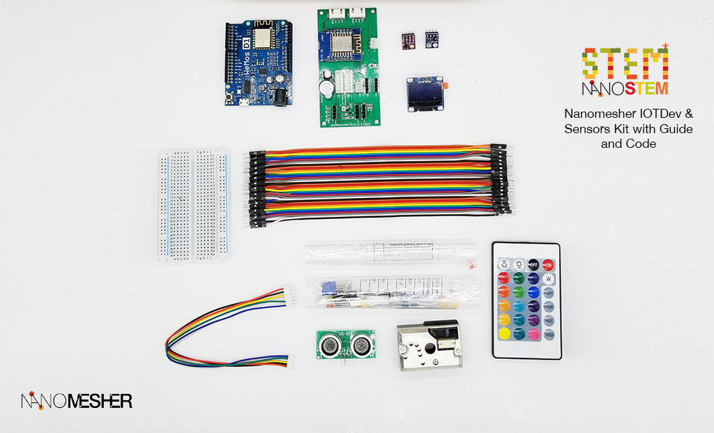 Dev and Sensors Kit for Arduino - Standard IOTKitStd