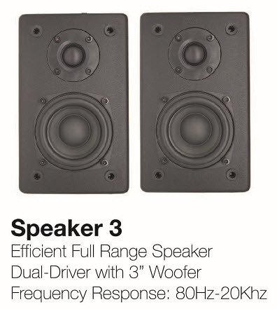 NanoSound Speaker 3 (Pair) NSOUNDSP3