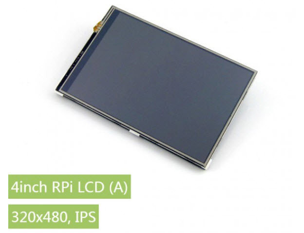Waveshare 4inch RPi LCD (A), 320×480, IPS
