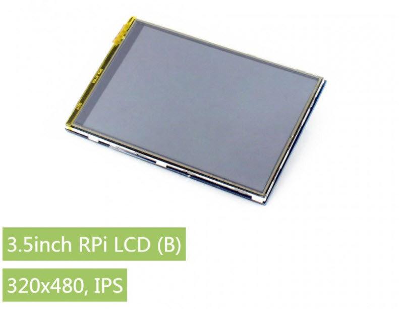 Waveshare 3.5inch RPi LCD (B), 320×480, IPS