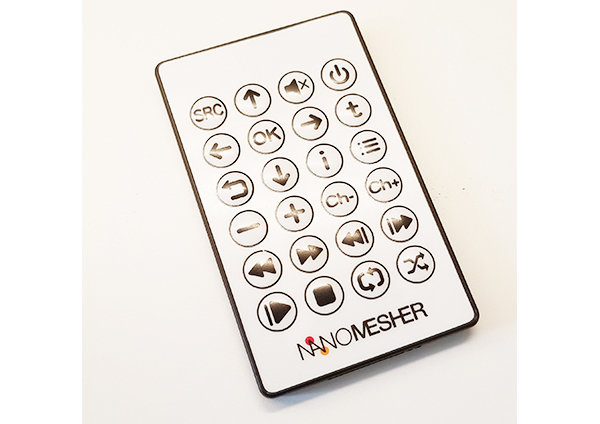 Nanomesher Multimedia Remote Control NMMRC