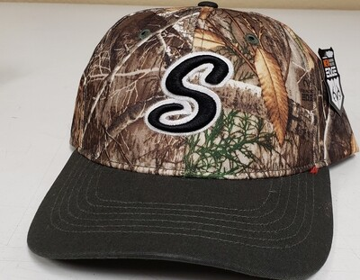 Richardson CAMO CROWN W/ DUCK CLOTH VISOR