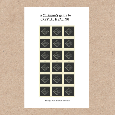 Printable Christian Crystal Healing Zine