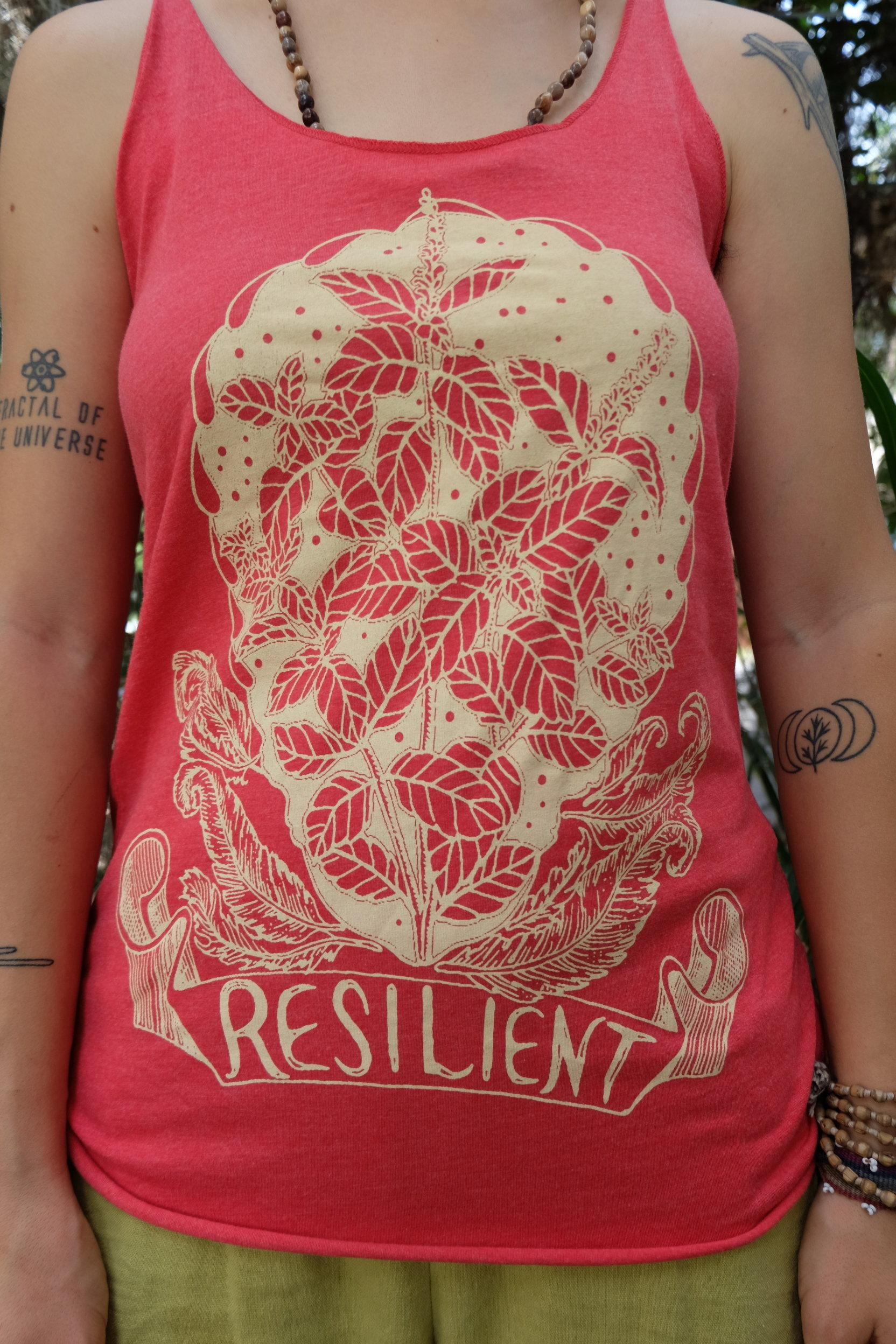 OGCP Ladies Tank - Resilient, Tulsi 00010
