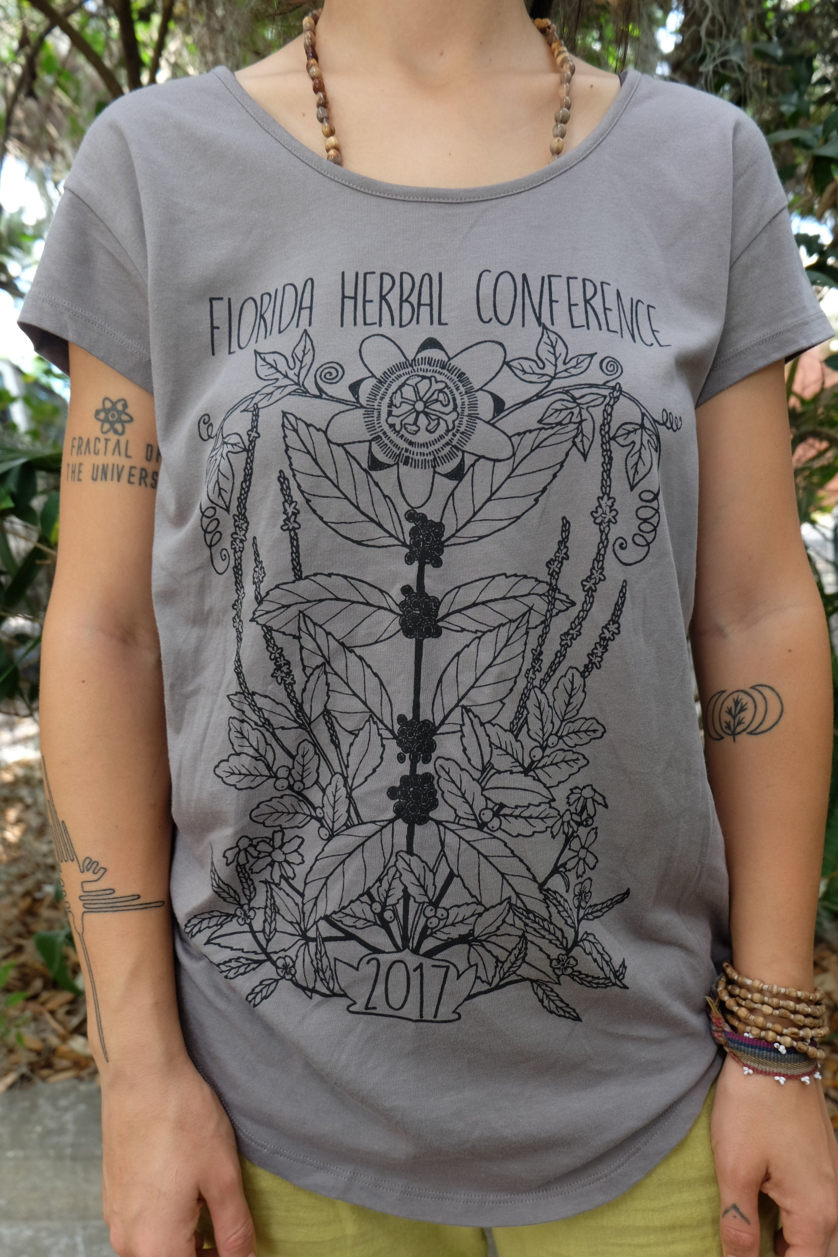 2017 Florida Herbal Conference Short Sleeved Tee