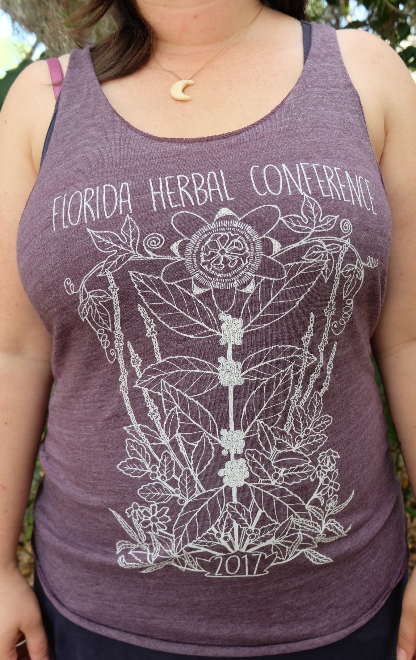 2017 Florida Herbal Conference Ladies Tank