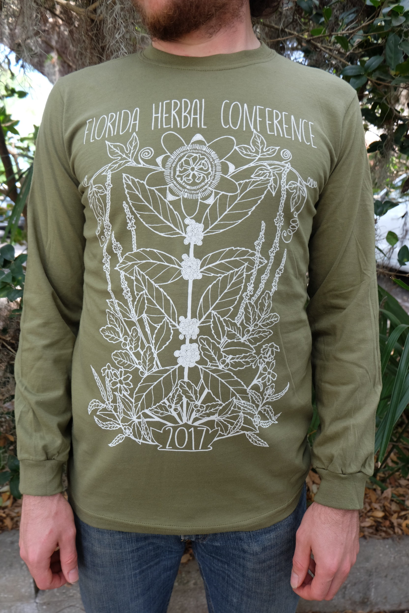 2017 Florida Herbal Conference Unisex Long Sleeved Tee