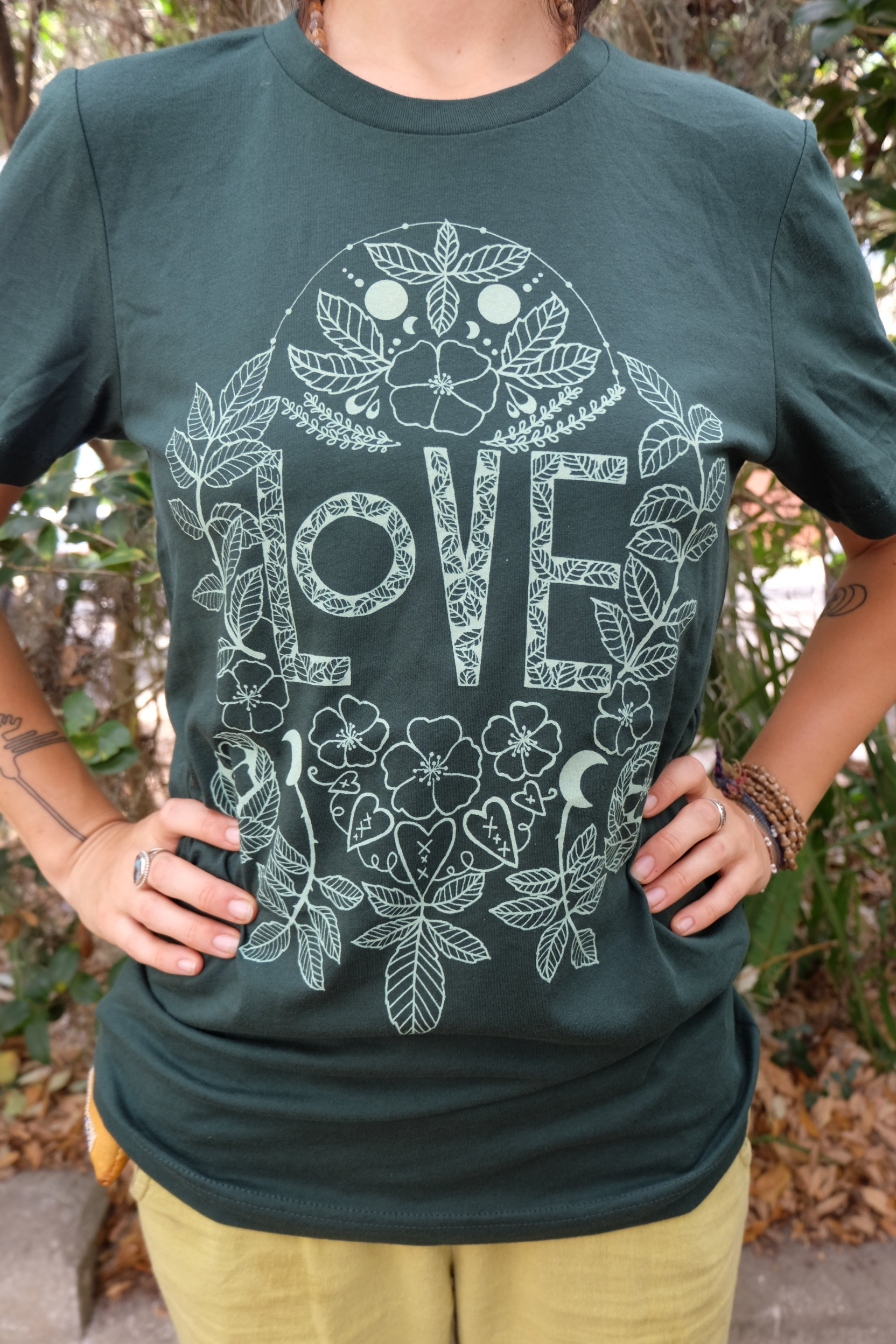 OGCP Unisex Short Sleeved Tee - Love, Wild Rose
