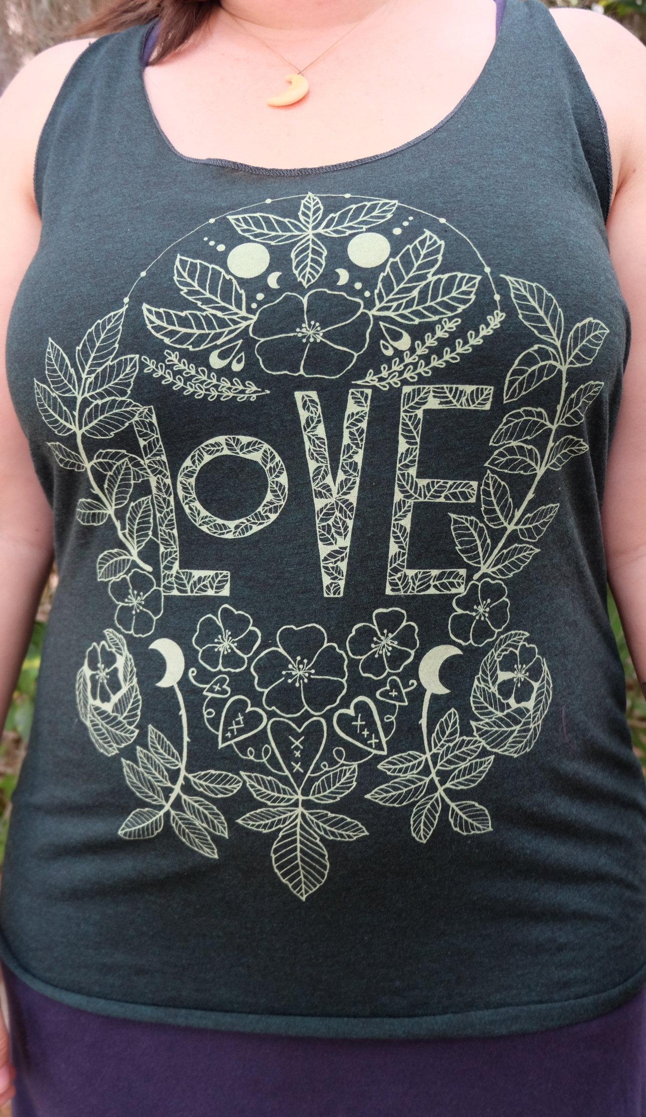 OGCP Ladies Tank - Love, Wild Rose