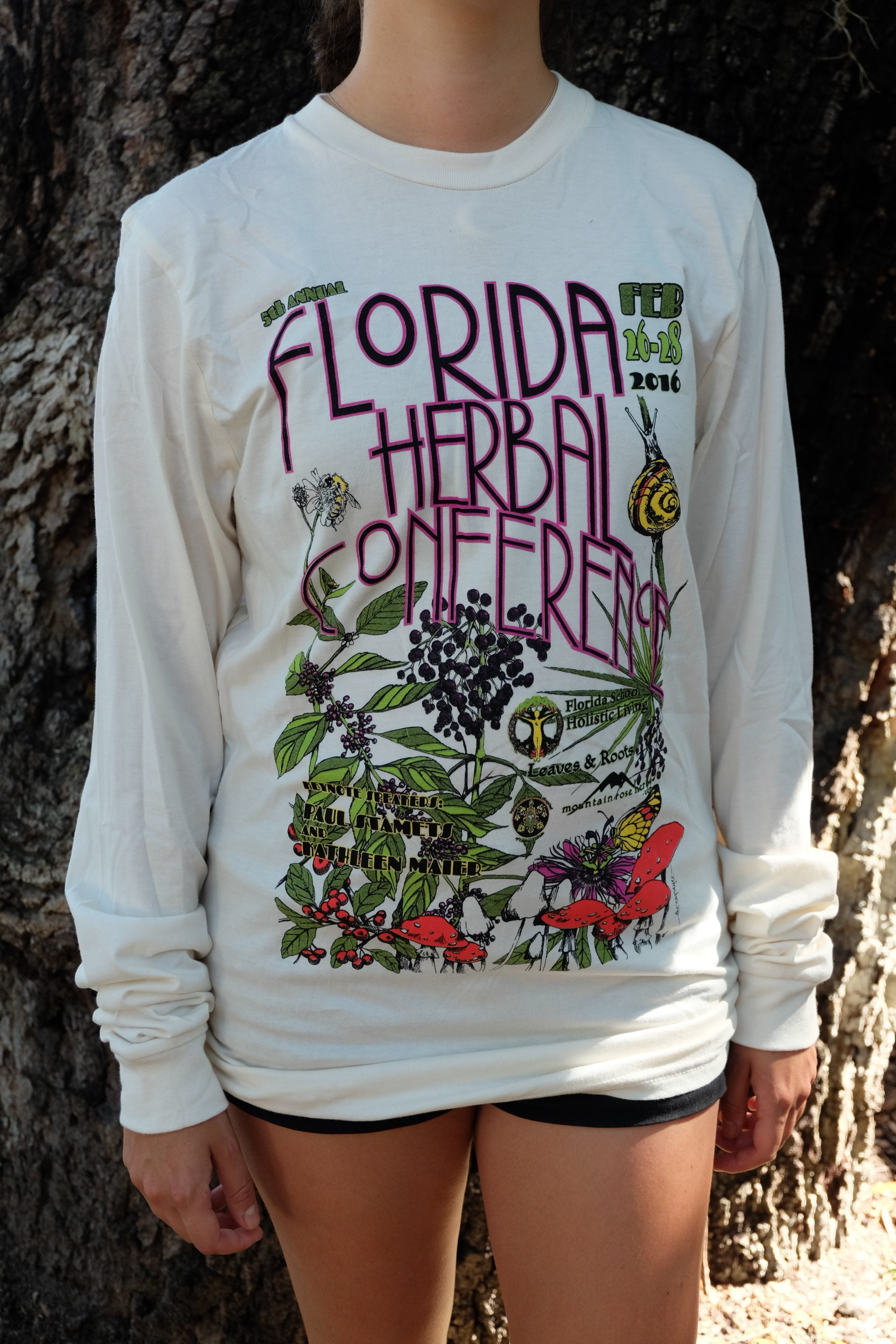 2016 Florida Herbal Conference Long Sleeved Tee 00028