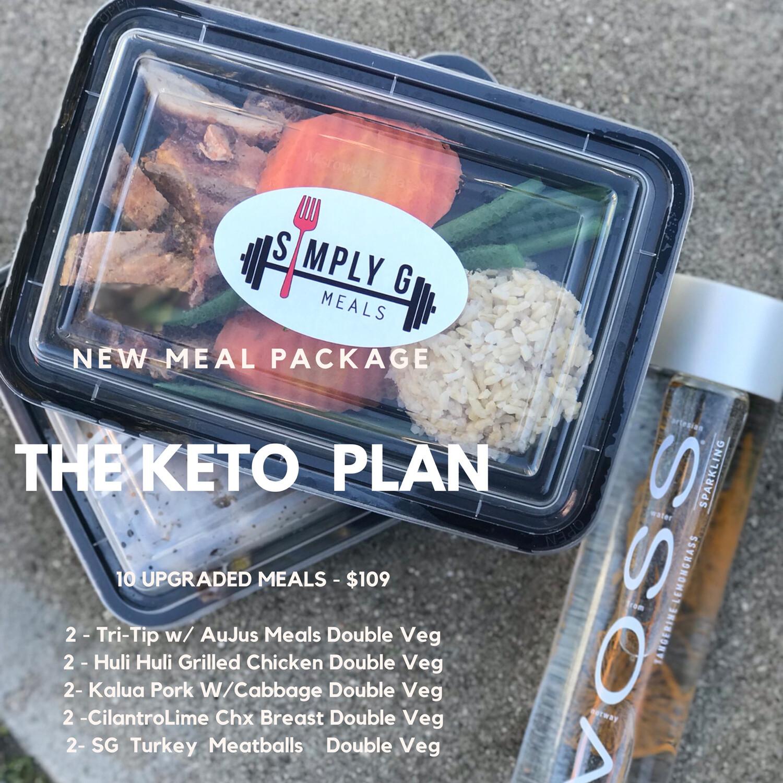 The KETO G PLAN (SALE)