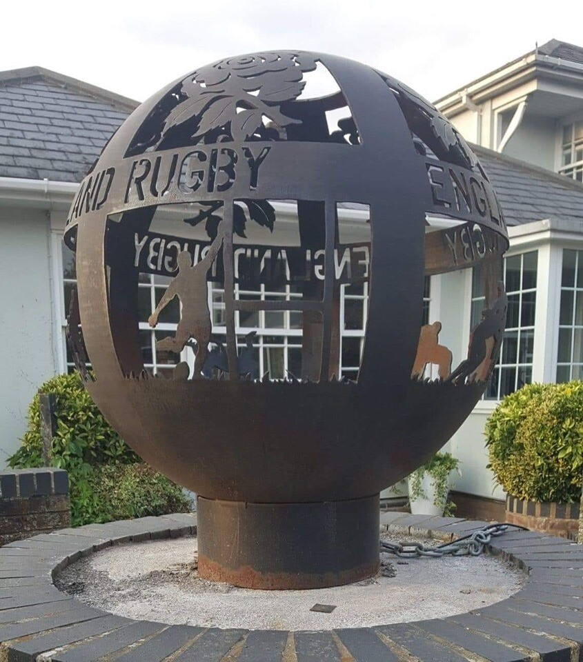 650mm England Rugby Special Firepit