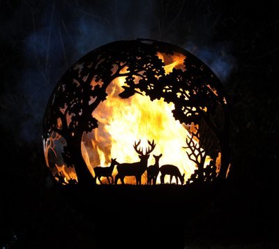 650mm Country Pursuits Firepit