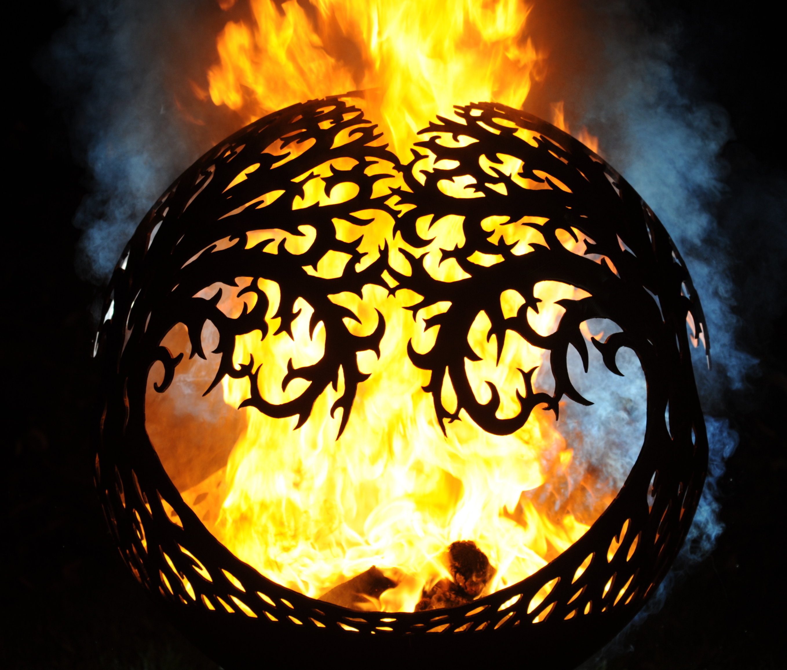 800mm Tree of Life Sphere Firepit 800ToLOL