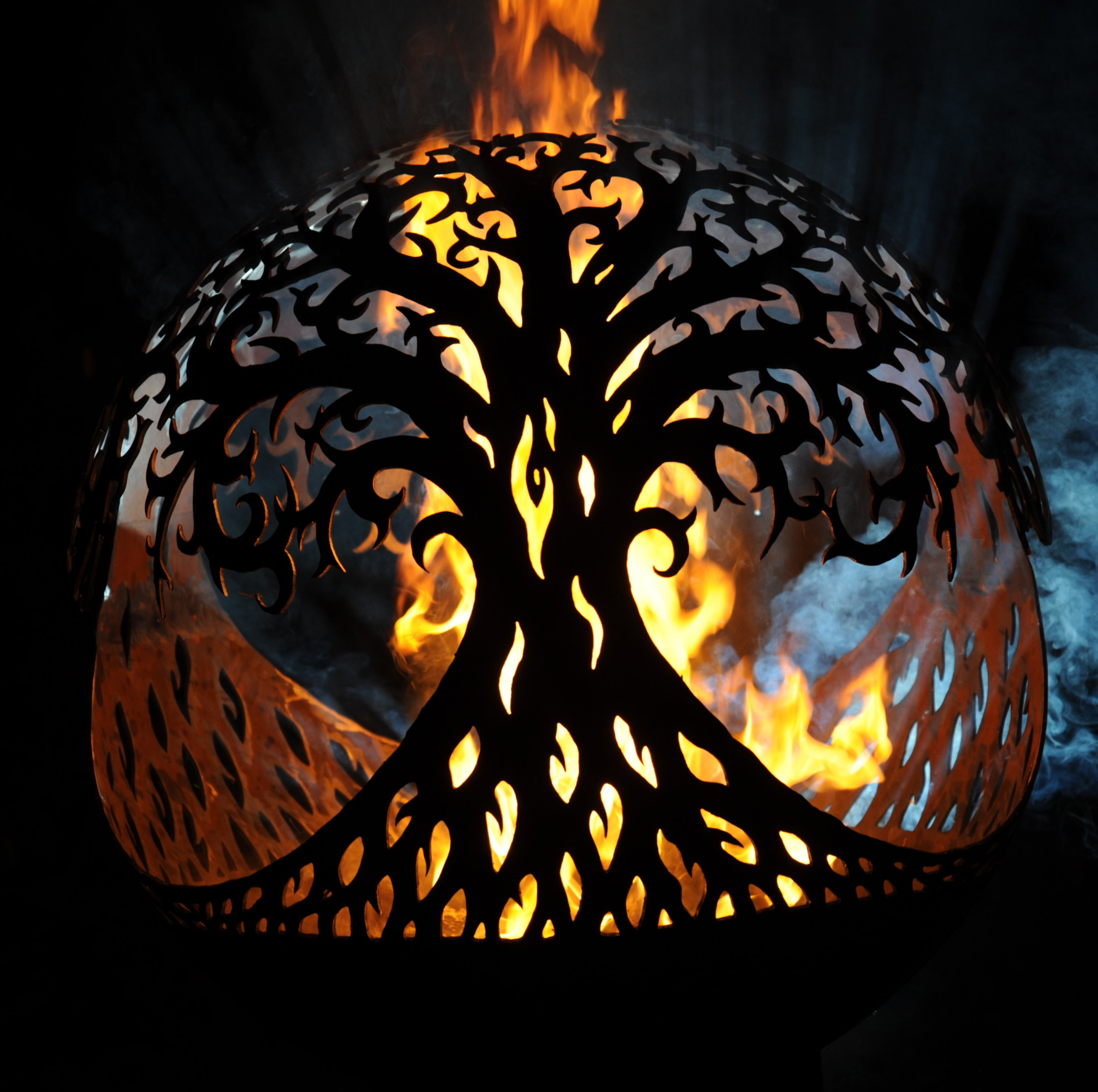 800mm Tree of Life Sphere Firepit