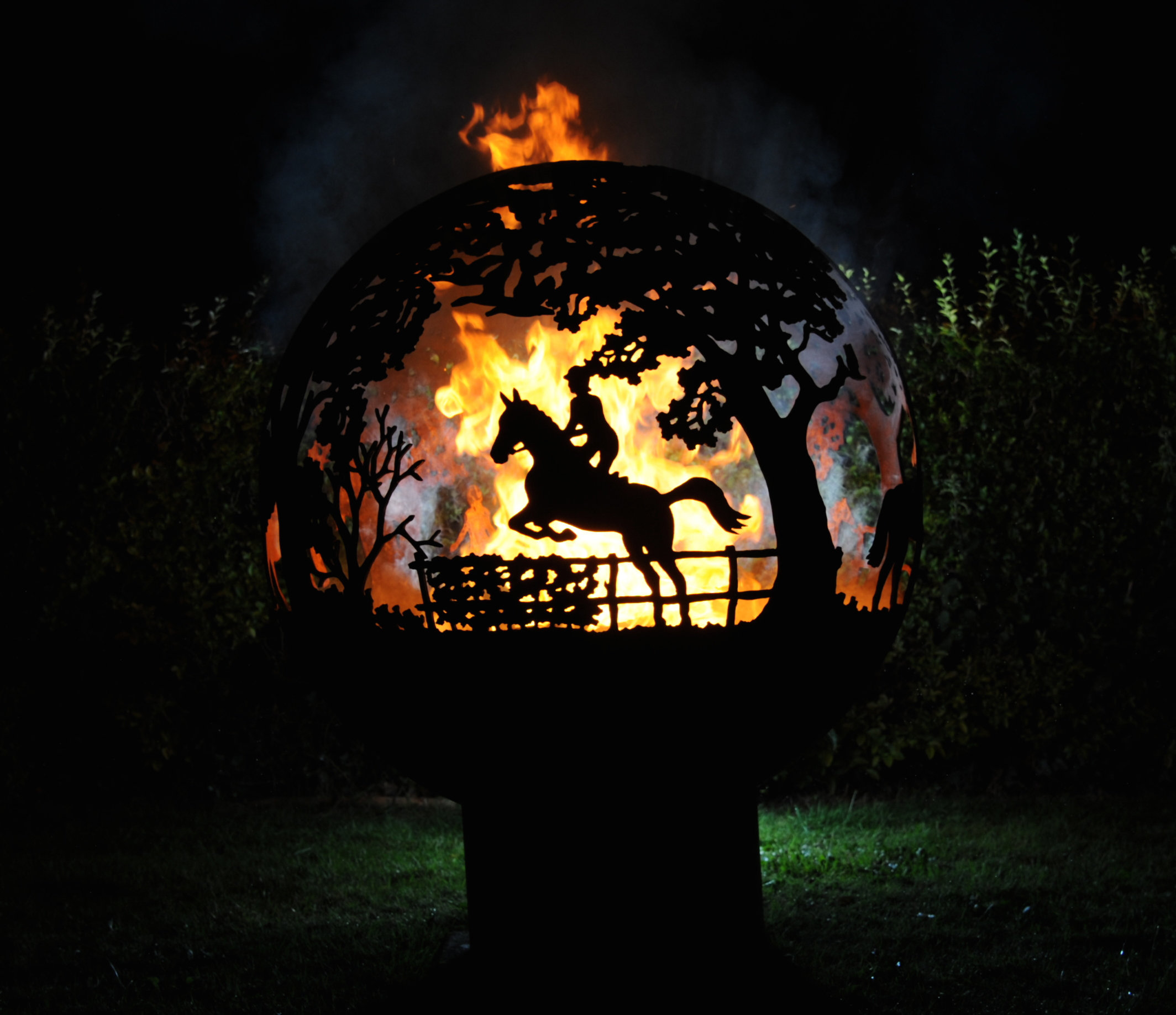 800mm Equestrian Firepit 800EquineOL
