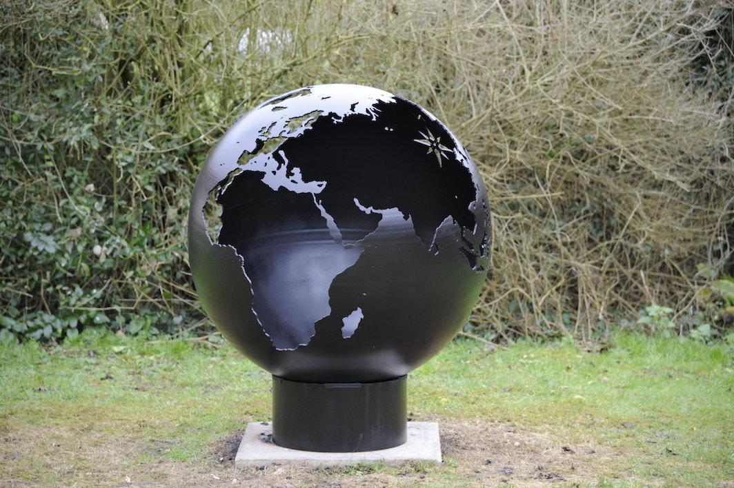 800mm Globe Firepit