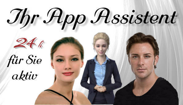 Der sprechende Stadt-App Assistent BASIC