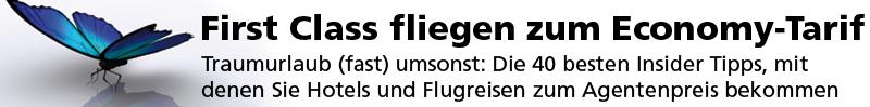 First-Class fliegen zum Economy-Tarif - E-Book & Hörbuch