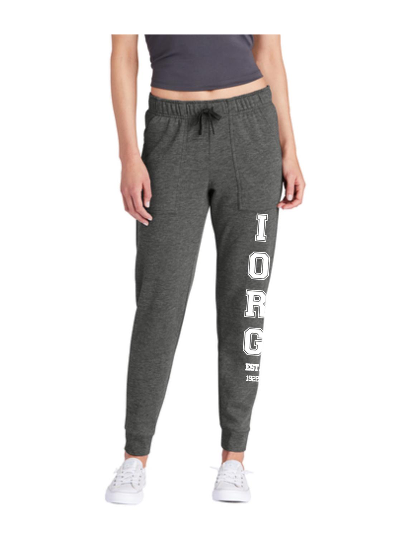 Juniors Fleece Pant- Grey