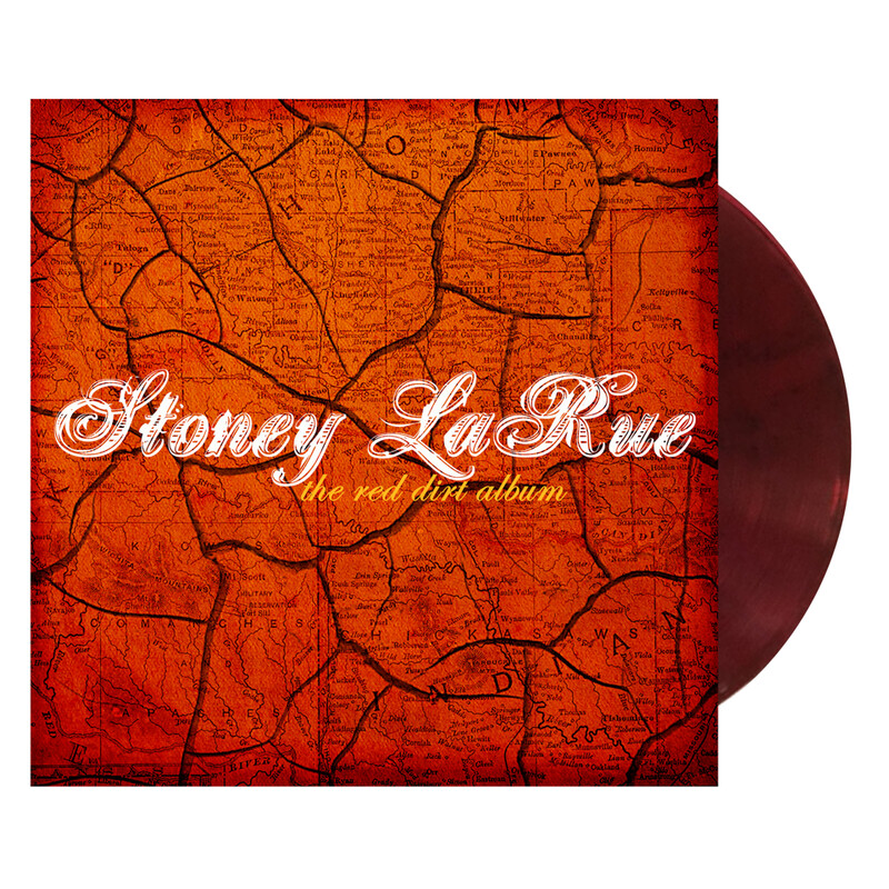 Stoney LaRue - Red Dirt Album (Pre-Order - Ships 8.23.19)
