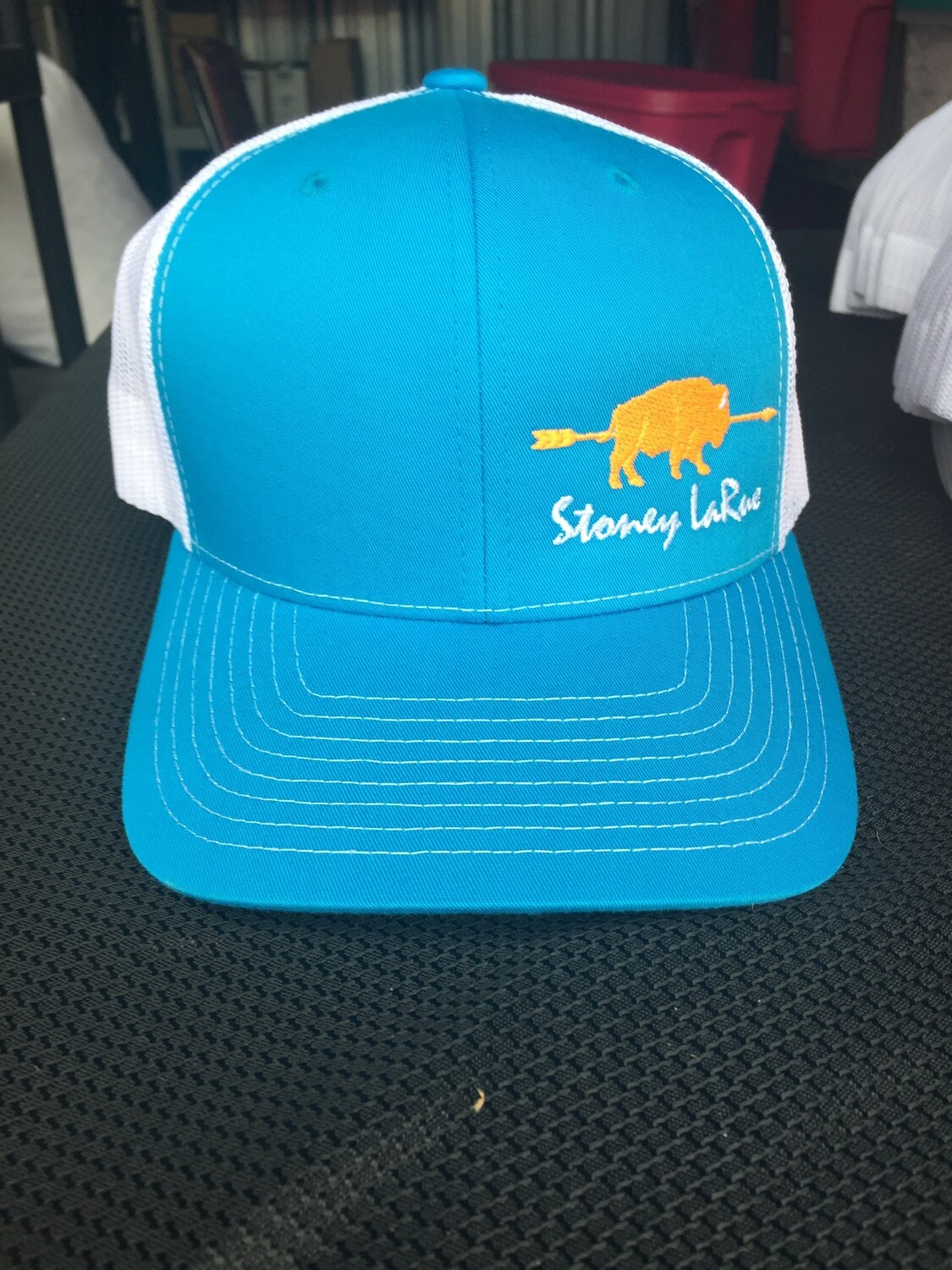 Blue & Orange Buffalo Snapback Stoney LaRue Hat