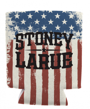 Drink Koozie: Stoney LaRue USA Koozie USAKOOZIE_BIN005